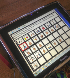 Dynavox Touch Pad